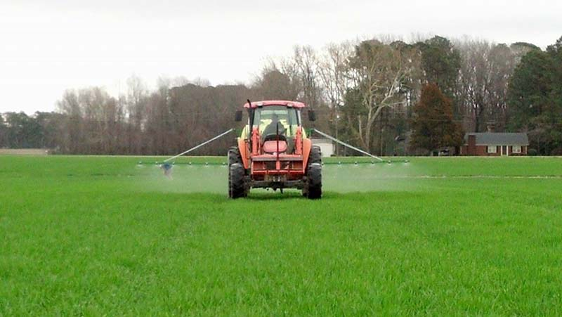 ag crop gallery - test plot sprayer - Carolina Precision